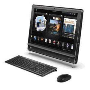 Picture of HP IQ506 TouchSmart Desktop PC